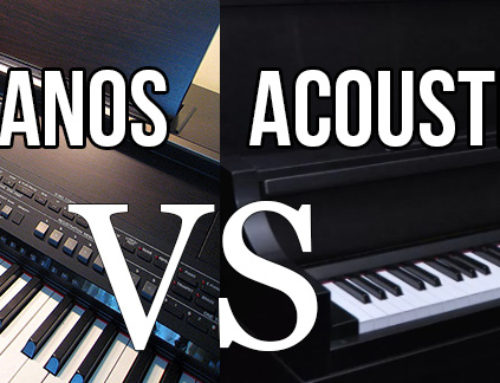Acoustic Pianos Versus Electronic Keyboards